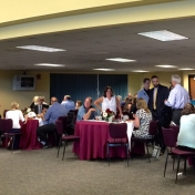 Attendees at the CJS Post-Commencement brunch 5-16-15 (2)