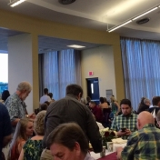 Attendees at the CJS Post-Commencement brunch 5-16-15