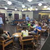 CJ_Instructor_DavidLawson_speaks_with_students_at_Leslie_Co_High_8-17-16