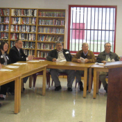 EKU Regional Campus Instructor David Lawson at Manchester Federal Corrections Institution Community Relations Board, Mock Interview Trial- Nov. 2014 (1)