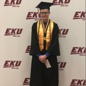 Spring 2018 Hazard Site graduate James Sumpter